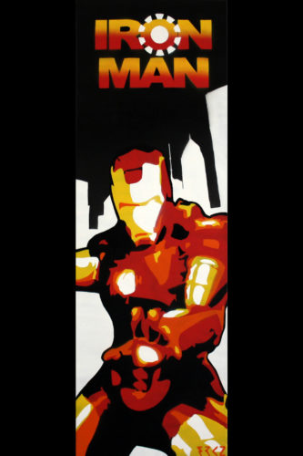 Toile Iron Man by FRKZ - BenMaker.fr