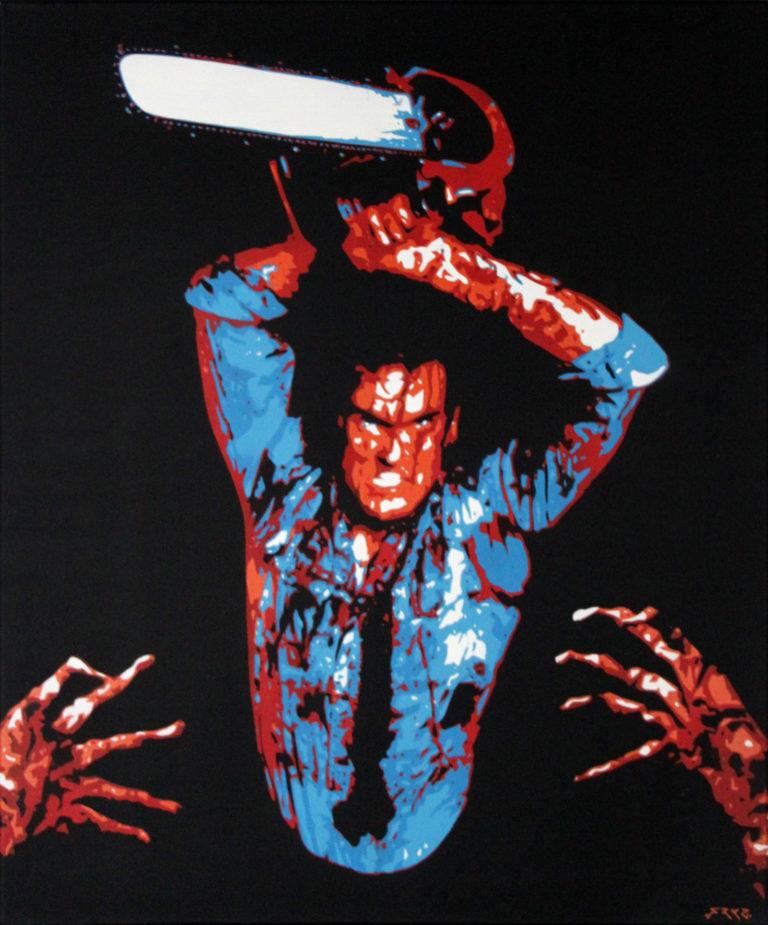 Toile Evil Dead by FRKZ - BenMarker.fr