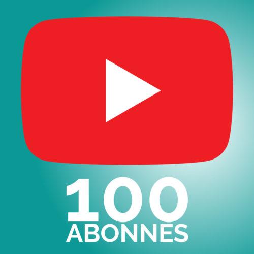 100 Abonnés sur Youtube !