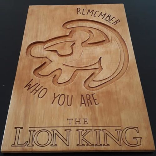 Gravure The Lion King - BenMaker