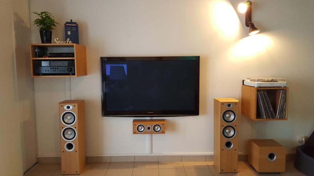 Meubles hi-fi muraux - BenMaker.fr
