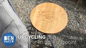 Upcycling d'un tabouret - BenMaker.fr
