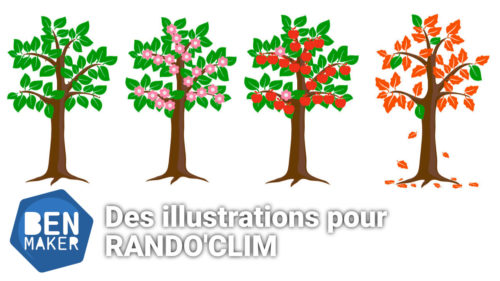Illustrations pour Rando'Clim