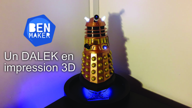 Dalek Impression 3D