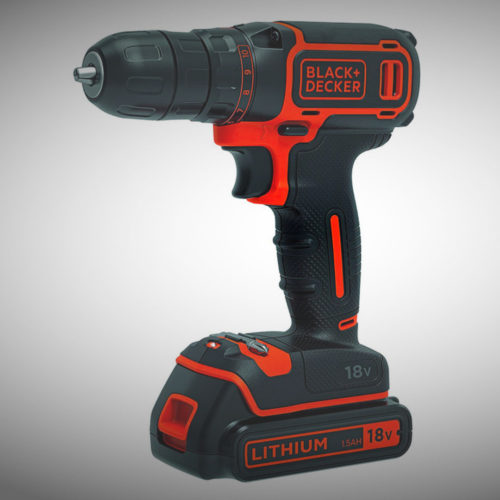 Test perceuse visseuse black & decker