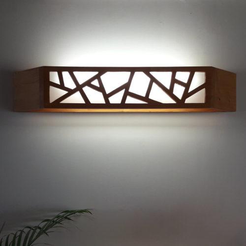 Lampe Murale en Pin