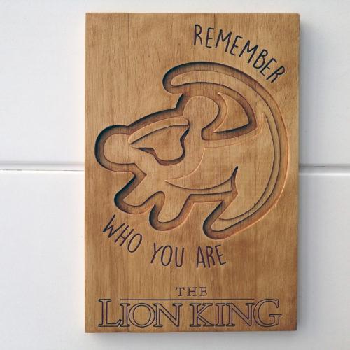 Gravure The Lion King - BenMaker
