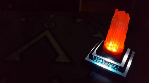 Je fabrique une lampe Stargate Atlantis