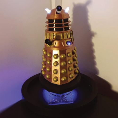 Un Dalek imprimé en résine