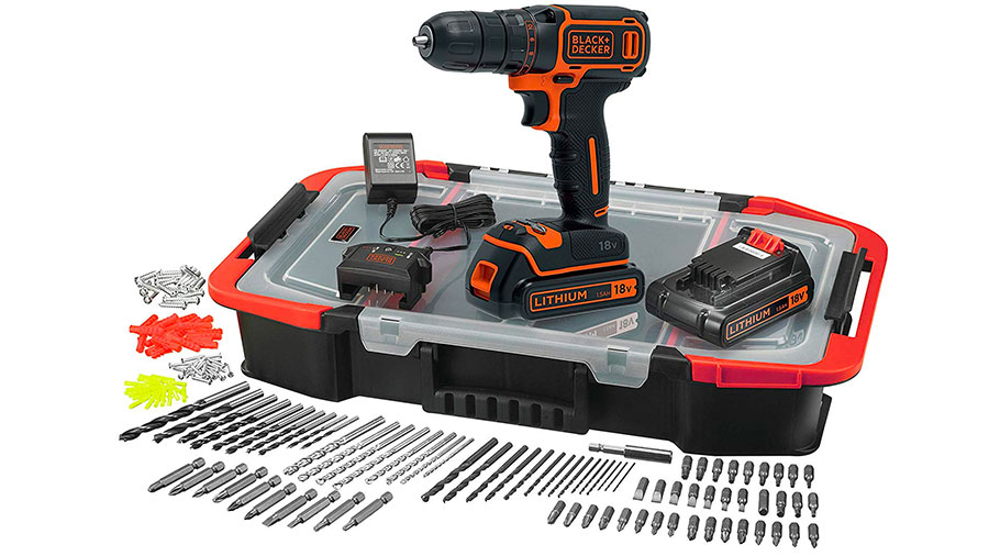 perceuse visseuse bdcdc18bast-qw black+decker