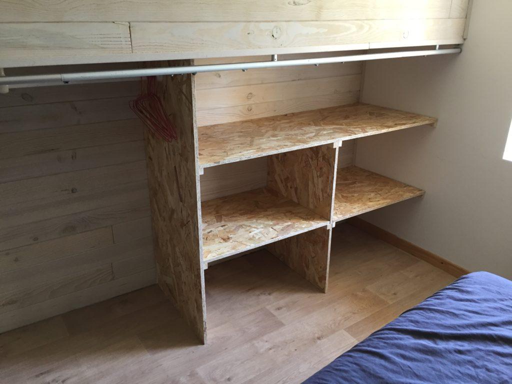Assemblage bois fini