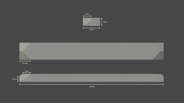 suspension luminaire mesure