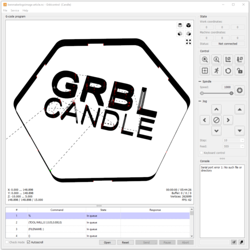 GRBL Candle