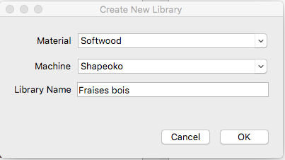 carbide create create new library