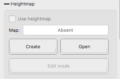 Candle heightmap