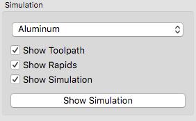 Carbide create simulation