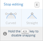 easel stop editing