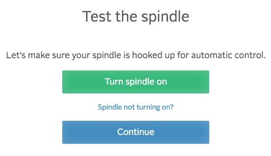 easel test the splindle