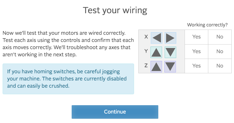 easel test your wiring
